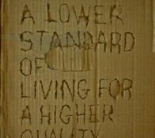 We Seek A Lower Standard...