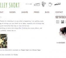 Shelley Short Web | Bonnie Fortune
